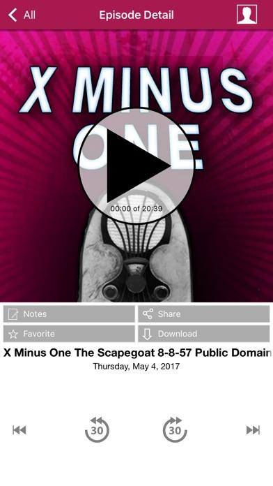X Minus One - Old Time Radio App-2