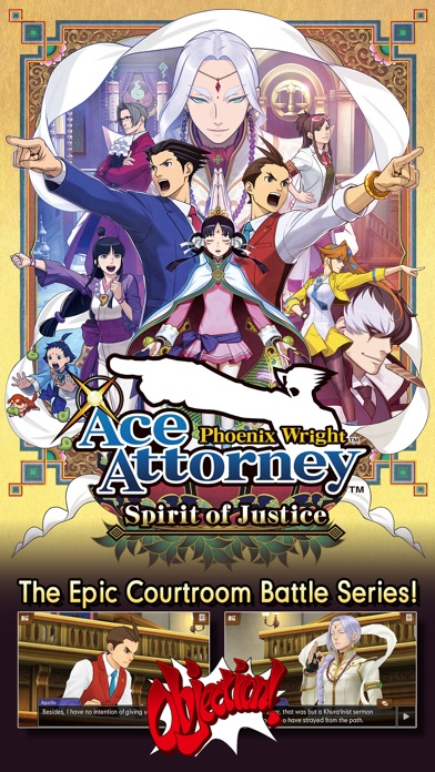 Ace Attorney Spirit of Justice screenshot 1