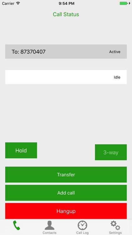 Call Control for BroadWorks screenshot-3