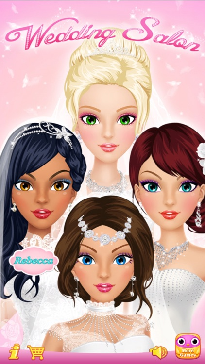 Wedding Salon - Girls Makeup, Dressup and Makeover screenshot-0