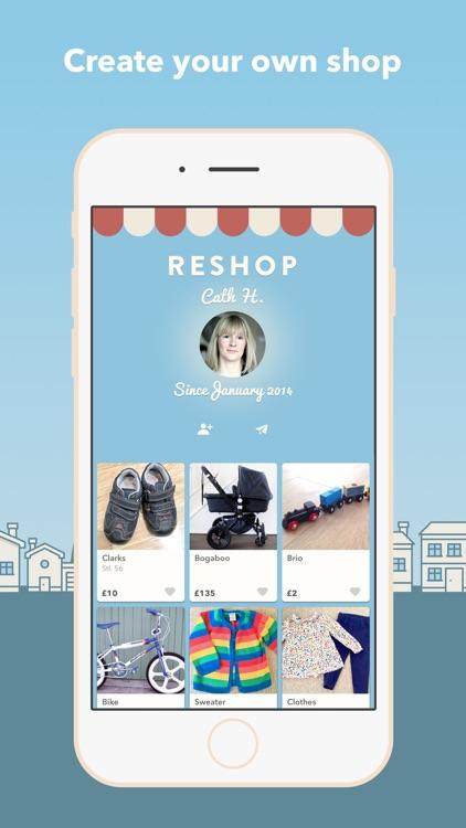 Reshopper - Secondhand for kids screenshot-4