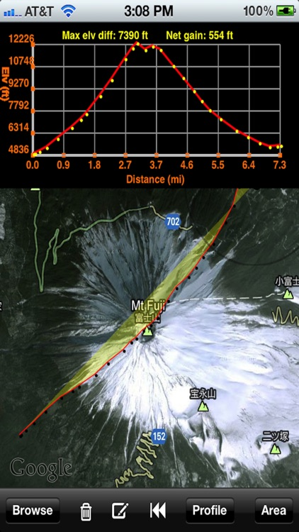MapTrace screenshot-2