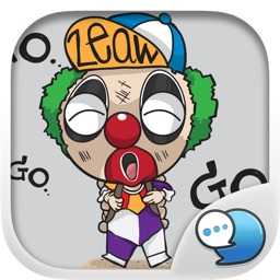 BOZO Stickers & Emoji Keyboard By ChatStick