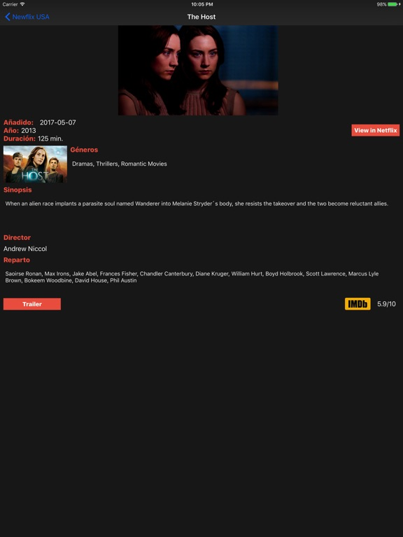 NewFlix for Netflix Pro-ipad-2