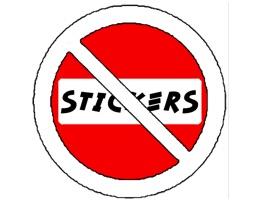 No Stickers Sticker Pack