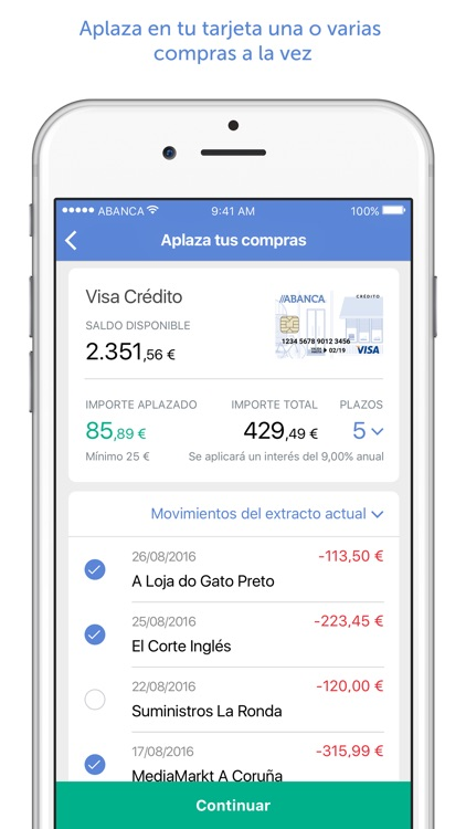 ABANCA screenshot-1