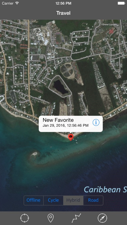 GRAND CAYMAN – GPS Travel Map Offline Navigator screenshot-3