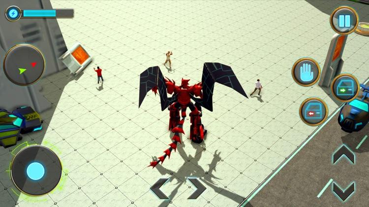 Incredible Dragon Robot 3D screenshot-3