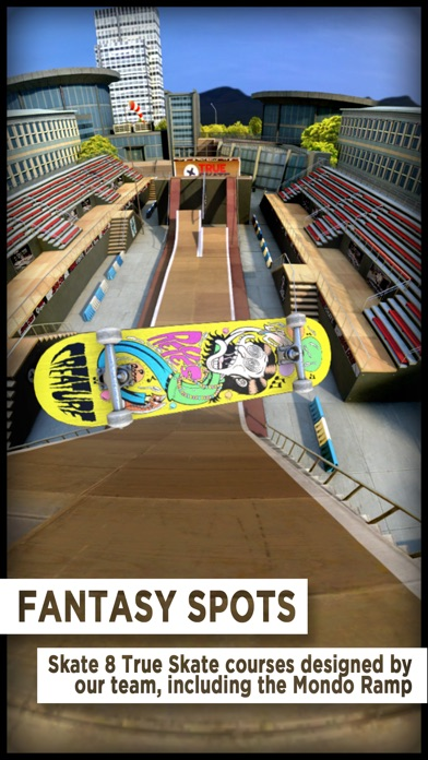 True Skate screenshot1