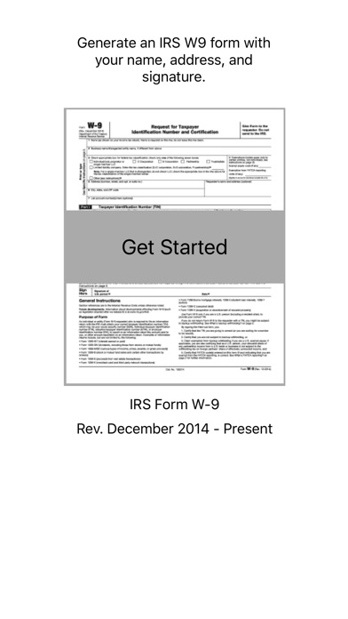 W9 Form Sign And Send Irs Form W9 App Price Drops