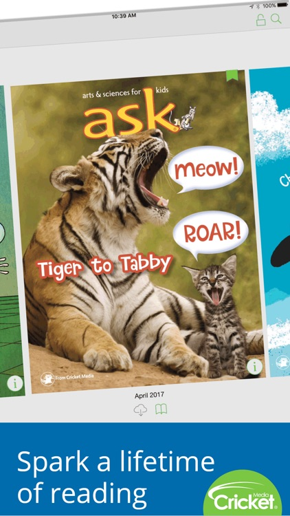 Ask Magazine: Science and arts for curious kids screenshot-0