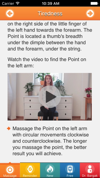 Ease Through Menopause - Relief Massage Points!