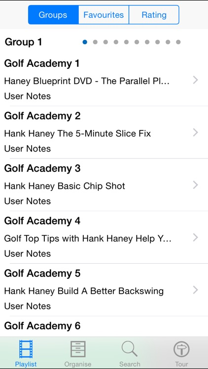 Golf Academy. screenshot-1