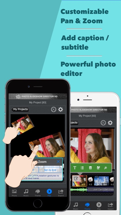 Photo Slideshow Director Pro -  Music Video Editor screenshot-3