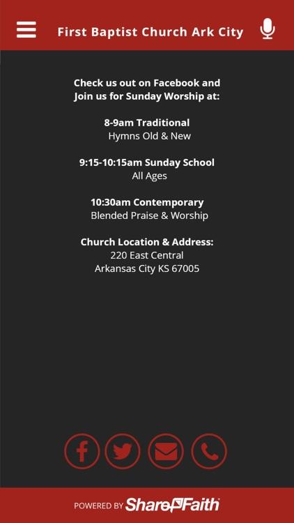 First Baptist Church Ark City