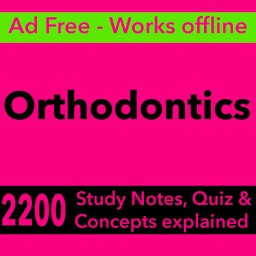 Orthodontics Exam Review App-2200 Terms & Quizzes