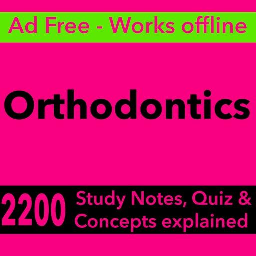 Orthodontics Exam Review App-2200 Terms & Quizzes