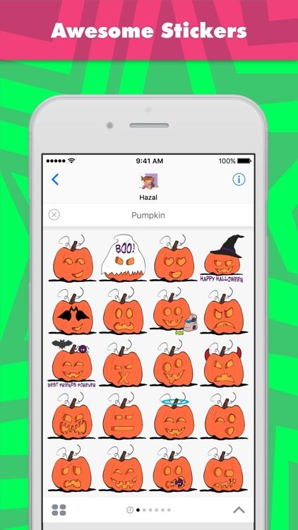 Pumpkin stickers by Hazal