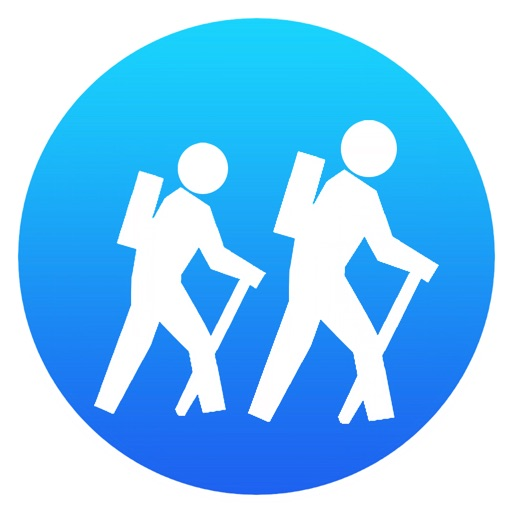 i Hike GPS : USA + SE & SW Canada Topo Maps app logo