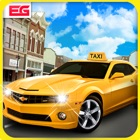 Taxi Driver Car Simulator : Speed Test Car Parking icon