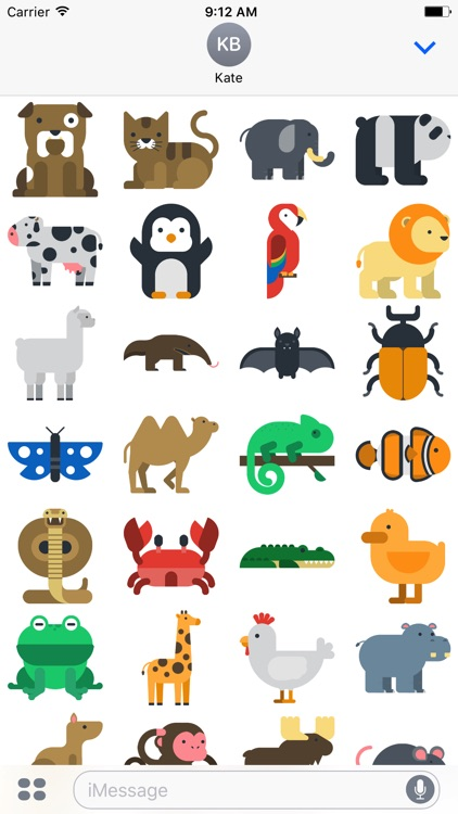 The Animal Sticker Pack
