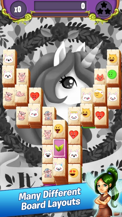 Emoji Mahjong Adventure screenshot-2