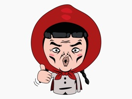 Little Red Cap – Cartoon Stickers for iMessage