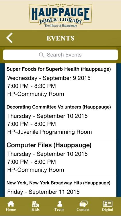 Hauppauge Public Library screenshot-3