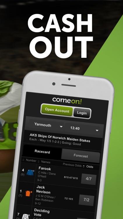 ComeOn! Sports Betting screenshot-4