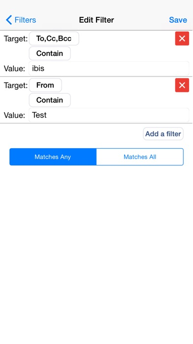Screenshot for ibisMail - Filtering Mail in Austria App Store