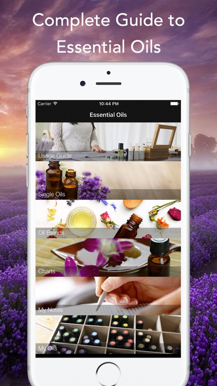 Essential Oils Reference Guide EO