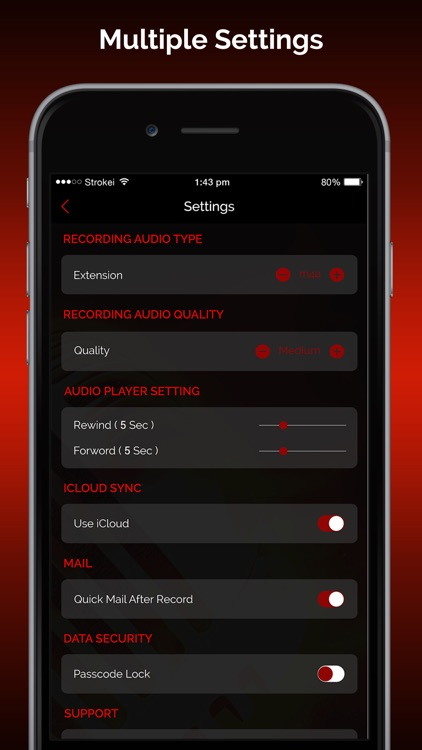 Quick Recorder Pro: Voice Record,Trim,Share,Upload screenshot-3