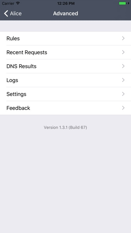 Alice - Network Proxy Utility screenshot-4