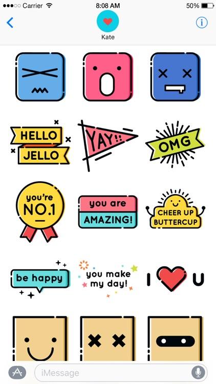 Moodies Sticker screenshot-3
