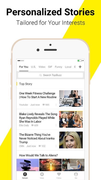 TopBuzz: Best Viral Videos, GIFs, TV & News screenshot-3