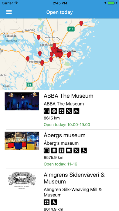 Stockholm museums screenshot three