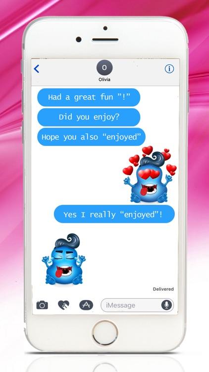Love Demons Emoji Stickers for iMessage screenshot-3