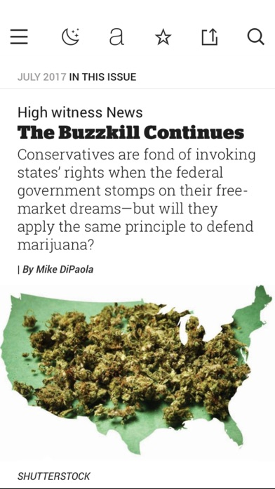 High Times Magazine review screenshots