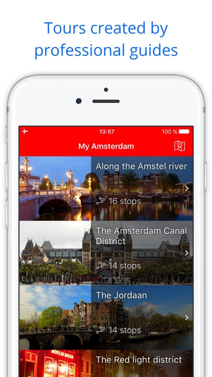 My Amsterdam - audio-guide & map ( Netherlands )