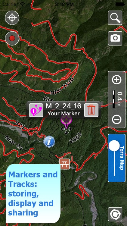 Trails of Olympic NP -  GPS Topo Maps for Hiking screenshot-3