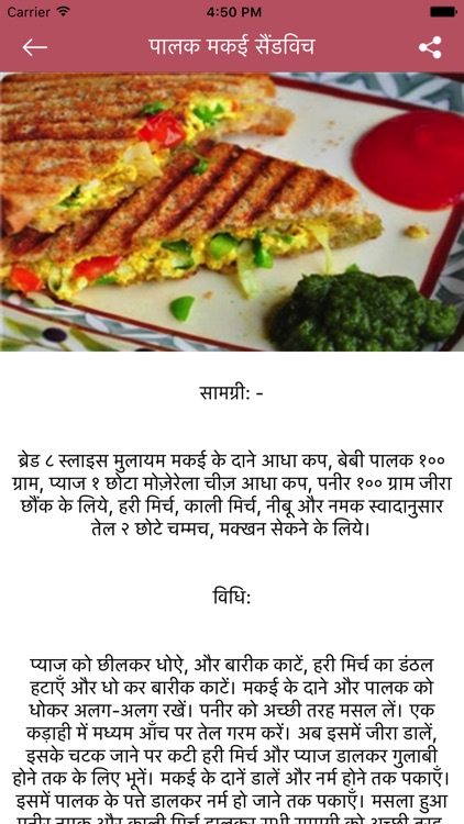 FastFood Recipe in Hindi