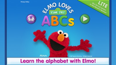 Elmo Loves Abcs Lite review screenshots