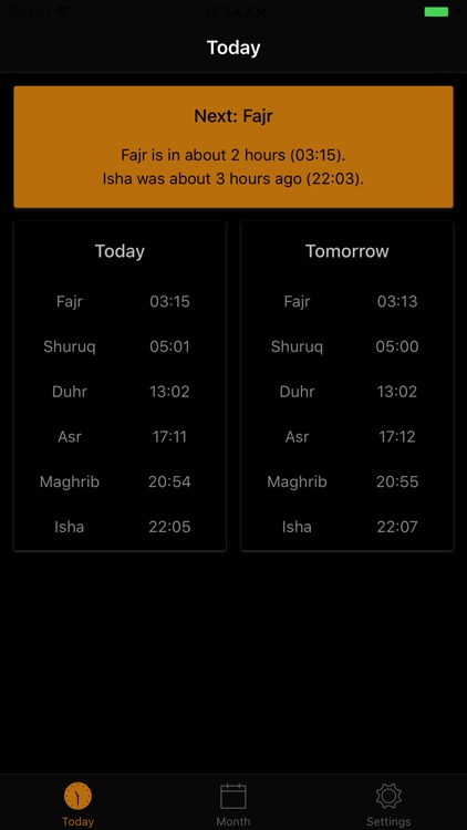 London Prayer Times screenshot-4