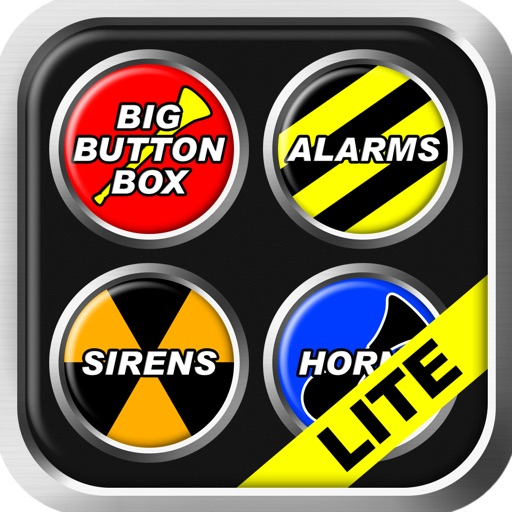 Big Button Box: Alarms, Sirens & Horns Lite