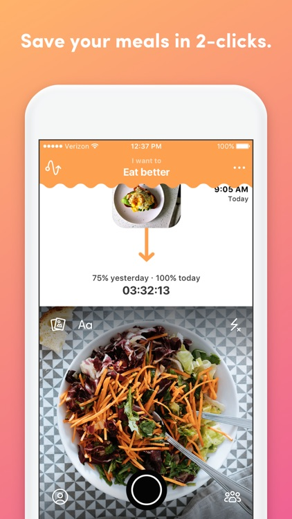 YouAte - Visual Food Diary with no Calorie Counter