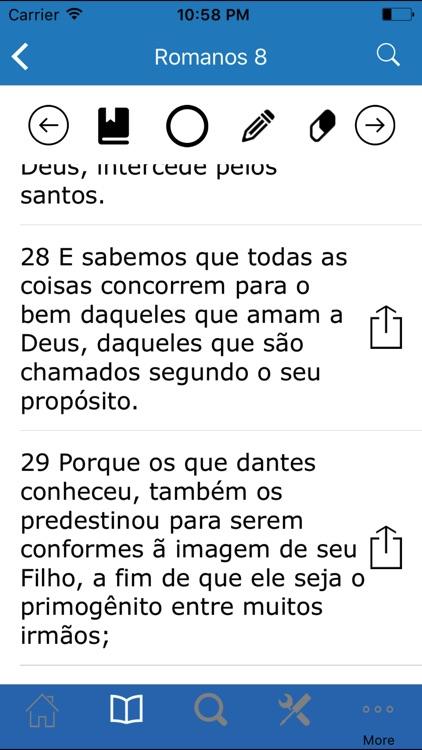 The Bible in Portuguese screenshot-4
