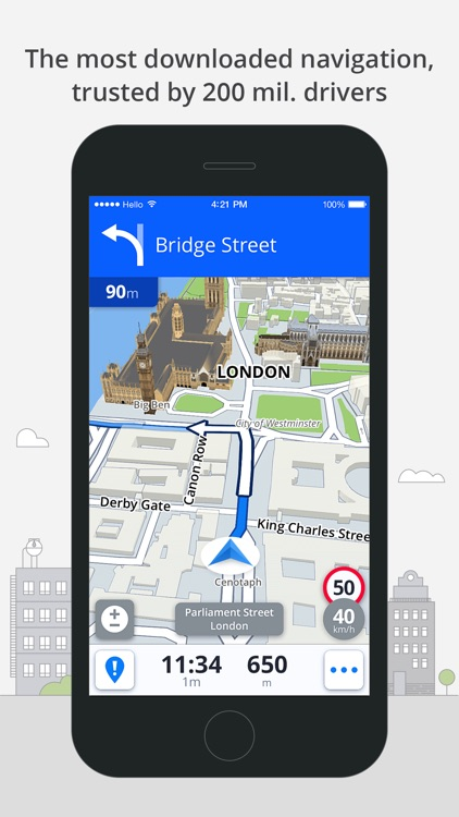 Sygic Brazil: GPS Navigation, Offline Maps screenshot-0