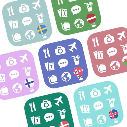 Unlock 7 North European Languages 500 (Travel)