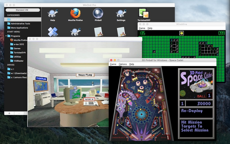 WinOnX Screenshot
