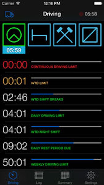 TruckerTimer screenshot-1